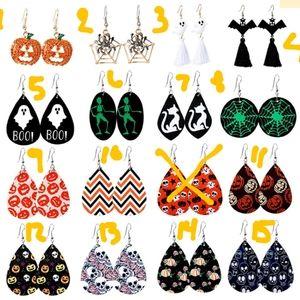 New Halloween earrings for women teardrop